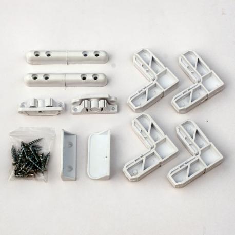 Set acceasorii plasa anti insecte alb